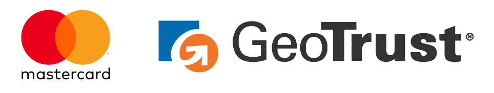 mastercard and GeoTrust logo