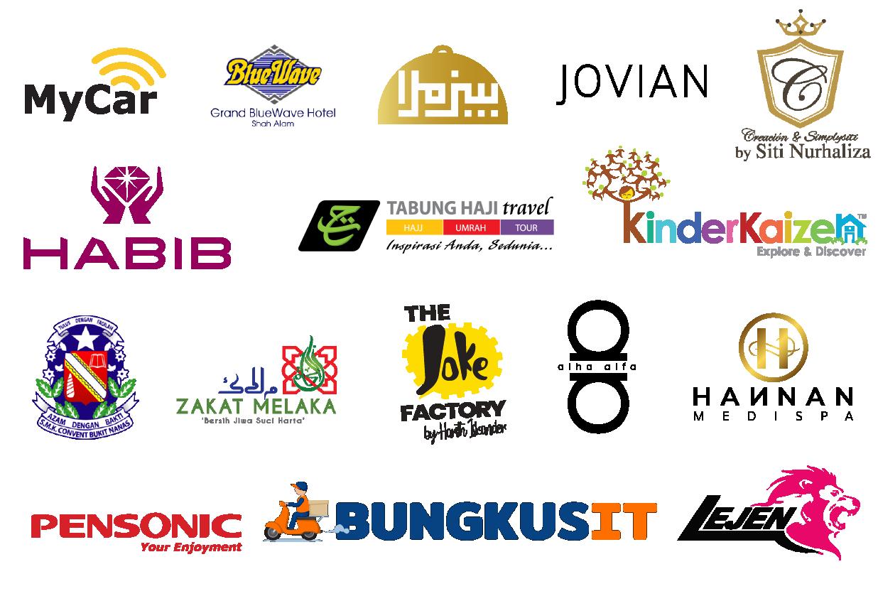 Our merchants' logos